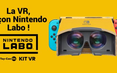 Nintendo Labo Toy-Con 04 : kit VR : simple, convivial et fun