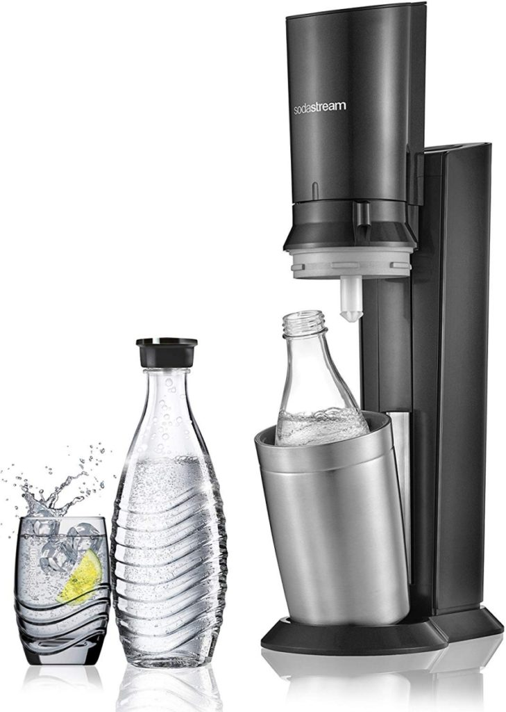 Photo d'une machine à soda Crystal de Sodastream